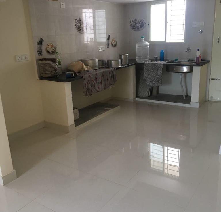 big kitchen room